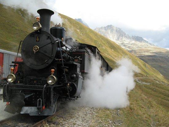 Realp, Switzerland: Furka-Bergbahn
