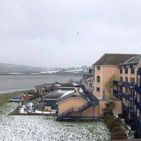 Ferrycarrig Hotel: Snowy day