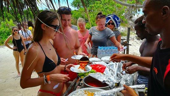 Zanzibar City, แทนซาเนีย: snorkelling trip