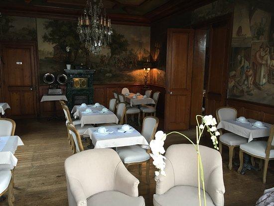 La Maison d'Emilie : Salle du petit déjeuner