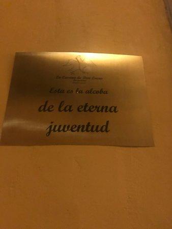 لا كاسونا دي دون لوكاس: Cada cuarto tiene su propio nombre