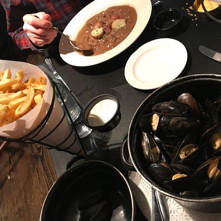 Cafe Bruges Menu Mussels