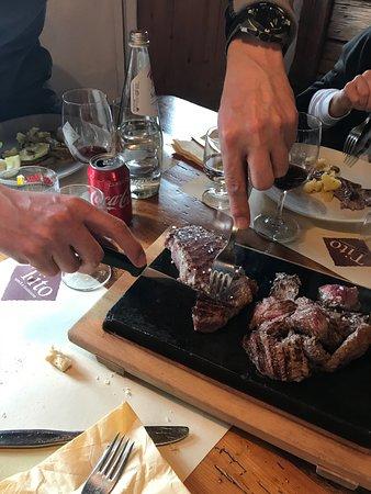 Daiano, Italie : Entrecôte di scottona nostrana