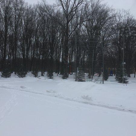 Манкивка, Украина: Аквадар в марте
