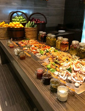 Stupendous The Large Healthy Buffet Part 1 Picture Of Seven Kitchens Interior Design Ideas Oxytryabchikinfo