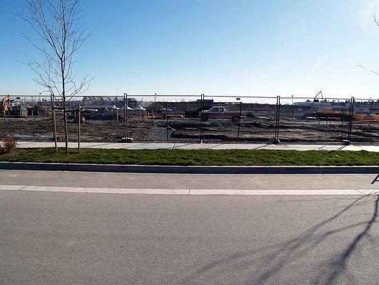 Tsawwassen, Canada: Construction Site across the street