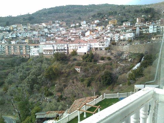 Pedro Bernardo, España: Desde el balcón de la habitación