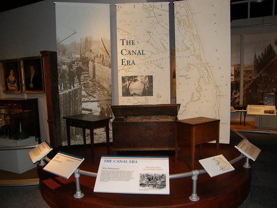 Elizabeth City, NC: The Canal Era section deals with the years between 1793-1880.