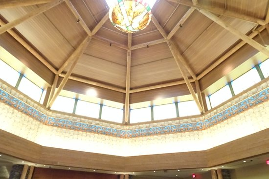 Lobby Ceiling Picture Of Four Winds Casino South Bend South Bend
