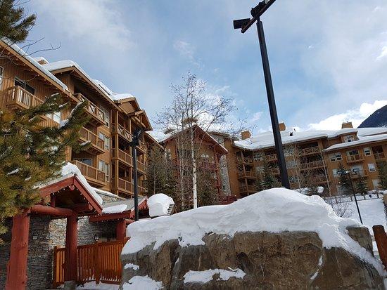 Panorama Springs Lodge : Aussenansicht