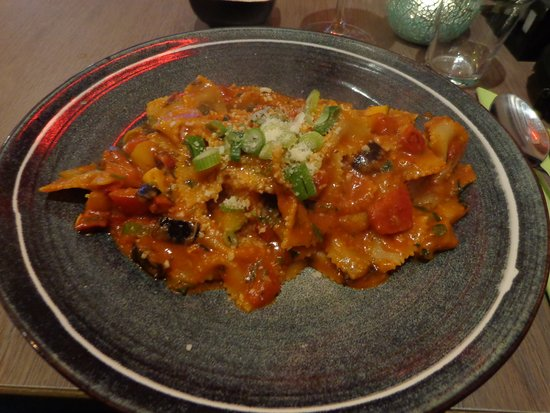 Bajatzu: Pâtes aux légumes