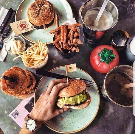 Yummy Traveller Reviews Gourmet Burger Kitchen Tripadvisor