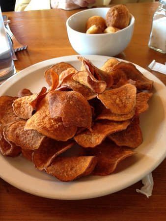 Yahoola Creek Grill: Sweet potato chips