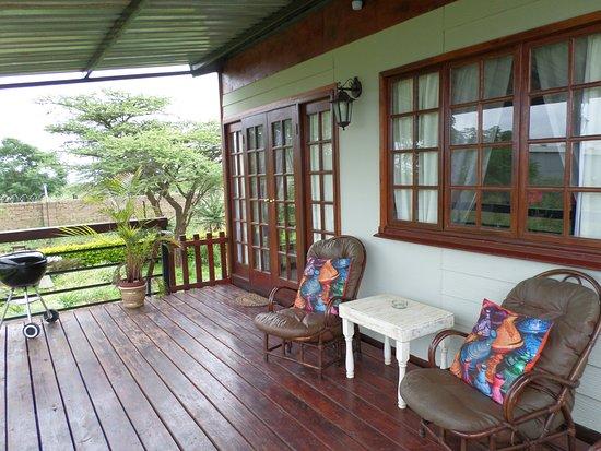 Louis Trichardt, Sydafrika: Rose guesthouse Veranda