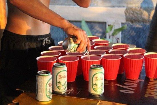 Las Penitas, Nicaragua: More Beerpong