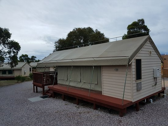 Scamander, Australia: En suite at the back and deck at the front
