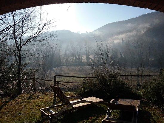 La Casella, Eco Resort: Vista dall'appartamento CASELLINA 2