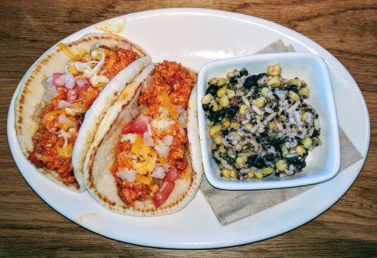 Fairlawn, OH: Barbacoa Cauliflower Pita Tacos (Yummy)