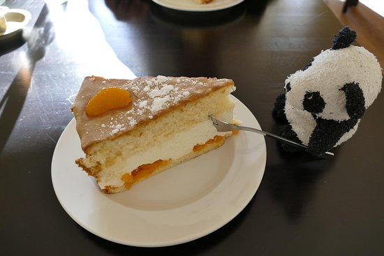 Bad Segeberg, Germany: Mandarinenquarktorte