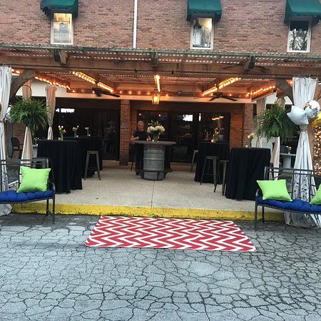 Ragtime Cafe: Birthday party at Ragtime's intimate event venue.