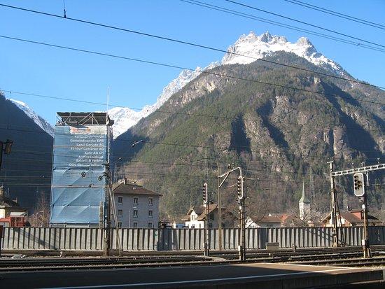 Erstfeld, سويسرا: Bahnhof Erstfeld