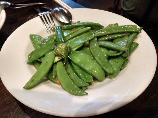Billy Kwong: Snow Peas and Zucchini Blossoms