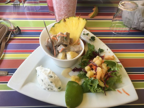 Terre-de-Haut, Guadalupe: Plats froid