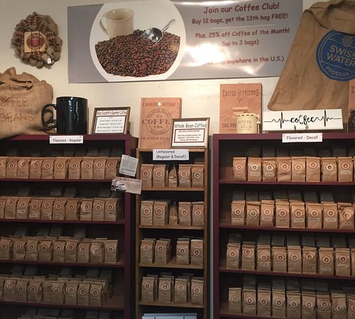 Volant, PA: Over 60 flavors of whole bean, freshly roasted coffee! (we can grind it for you)