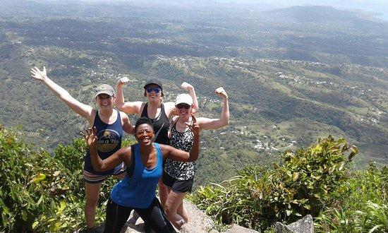 Climb Gros Piton St Lucia