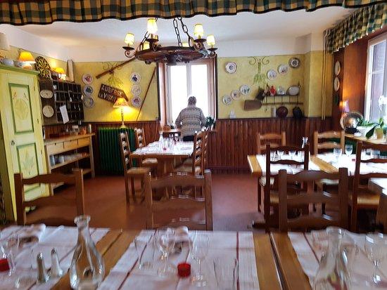 La Vigotte : salle a manger