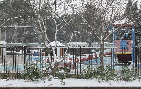 Holton Heath, UK: Frozen