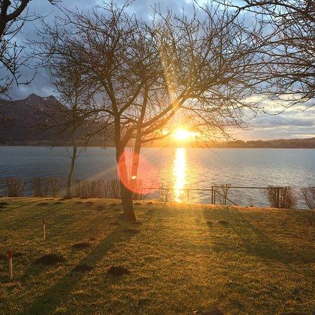 Zell am Moos, Österrike: Leider hab ich es verpasst,  das Haus bei Sonne zu fotografieren 😩  dafür sind die andern Bilde