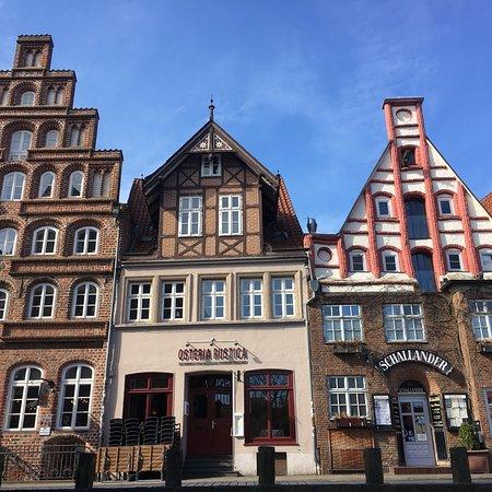 Stintmarkt im Lüneburger Hafen