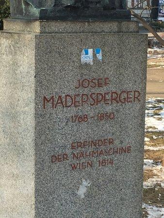 Denkmal Josef Madersperger