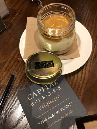 The Capital Burger: Delicious desserts!
