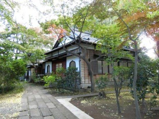 Nakano, Japon: 緑豊かな境内