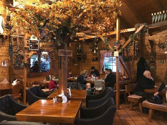 Mehlingen, Germany: The main dining room