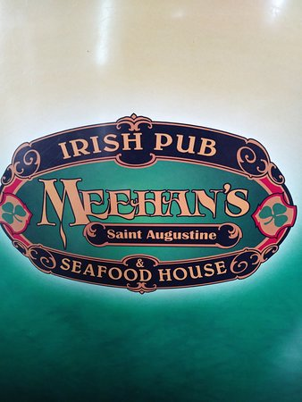 Meehan's Irish Pub: sign