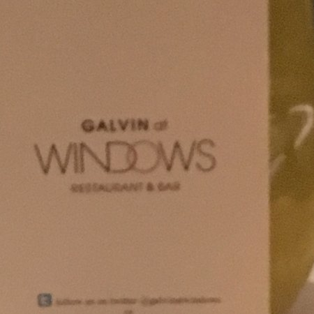 Galvin at Windows Restaurant: photo3.jpg