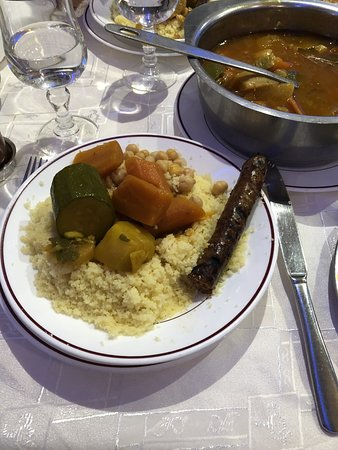 Franconville, Frankrijk: Couscous