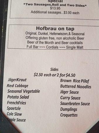 Delaware, Nueva Jersey: Jagerstein Biergarten