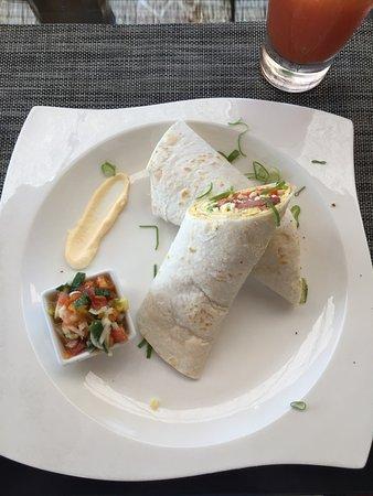 Rancho Pacifico: Breakfast burrito