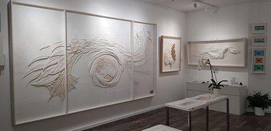 Ray Besserdin Paper Sculpture Artist Gallery