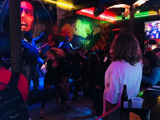 Cafe Negril: View of Band