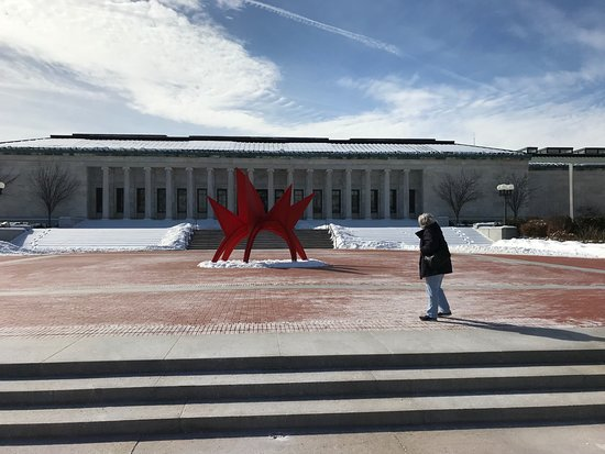 Toledo Museum of Art: Cold February day at TMoA