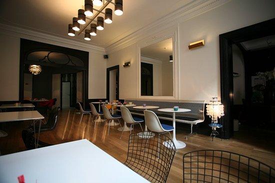 Saint-Gilles, Belçika: Restaurant