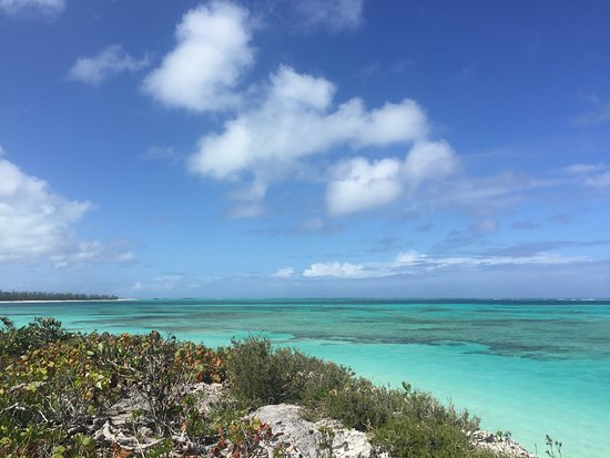 North Caicos: Look at that water