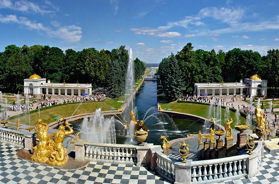 St Petersburg Visa Free Shore Tour of...