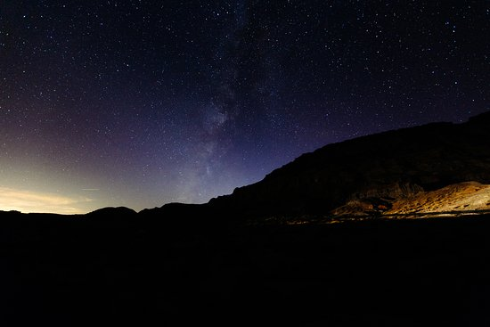 Cantil, แคลิฟอร์เนีย: Stargazing at Red Rock Canyon State Park