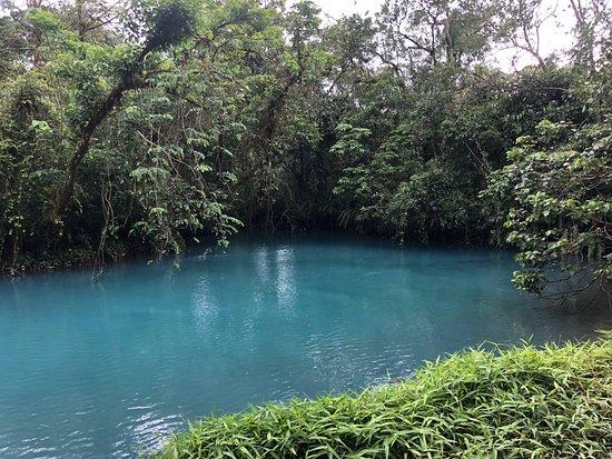 Tenorio Volcano National Park, Costa Rica: Teñideros. donde el agua obtiene las partículas de metales que le producen el color